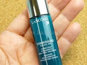 ランコム 高級感たっぷりなヴィジョネア セラム(美容液)がパウチではなくボトル7mLで試せます。