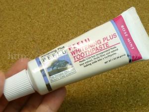 PEELU(ピール)ピールトゥースペースト ホワイトニング プラスローズミントでデンタルケアしてみたいと思います。