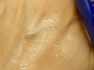 ノエビアの最高級自然派スキンケア505シリーズの乳液のテクスチャーや肌なじみ、質感をチェックして画像付きで紹介しています。