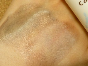 コットンで優しくなじませて拭き取ってください。とありましたがコットンで拭き取るとどういう風に落ちるかが分からなくなるため、指でなじませて使ってみました。サラサラなクレンジングにしては綺麗に落ちました。
