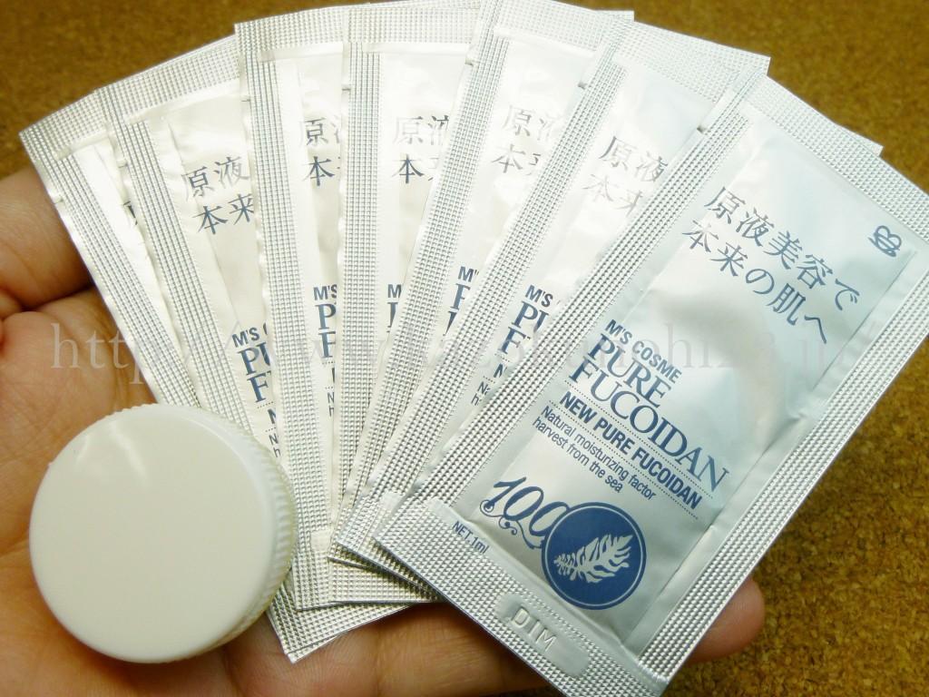 ゴッドハンド高橋ミカさんが開発したミッシーボーテのニューピュアフコイダンのお試しセットを購入て内容を公開します。
