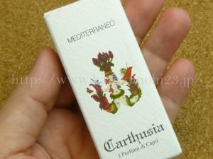 CARTHUSIA(カルトゥージア) メディテラネオ オードトワレはイタリアの門外不出レシピで作られたトワレ。