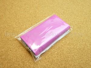 ローヤルゼリーもっちりジェル(お試しサイズ)に入っていた色はおまかせのショップ袋。
