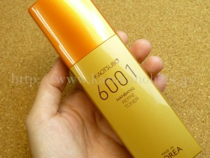 自然な香りが自慢の商品だとホームページに書かれていましたが、とてもじゃないけど爽やかな香りだとは思えなかったカオツボ6001リプリトナー化粧水。