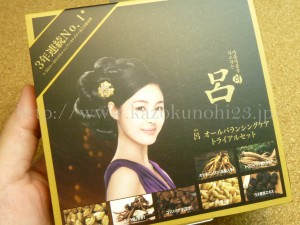 韓国コスメアモーレパシフィックの作った高麗人参シャンプー的なものだと思います。
