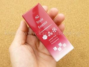 ひびきれい、という美顔器の導入美顔器向けの導入美容液のようです。