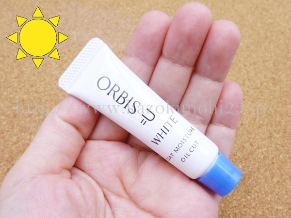 orbis u white day moisture.オルビス年齢肌用美白化粧品オルビスユーの日焼け止めの使用感について口コミ報告中。