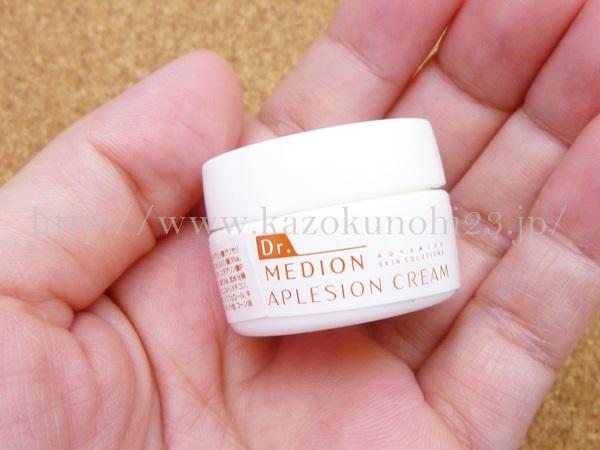 ドクターメディオン アプレシオンクリームの使用感を写真つきで口コミ公開中。