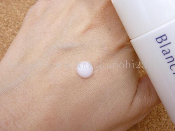 アミノホワイティブ美白美容液の質感報告。