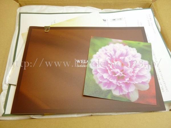 お得意様サービスのご案内という冊子が入っていました。