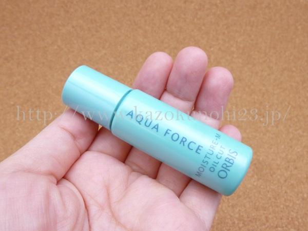 アクアフォースモイスチャー保湿液は、ゲル状でした。