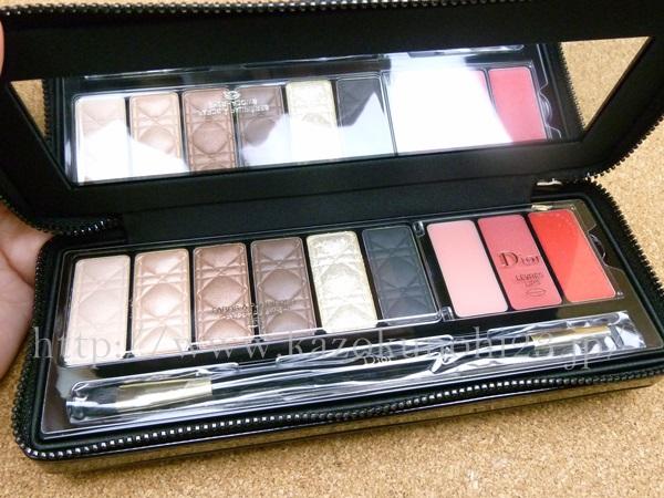 Dior(ディオール) クチュール カラー ワードローブは、アイシャドウ6色と口紅3色入り。