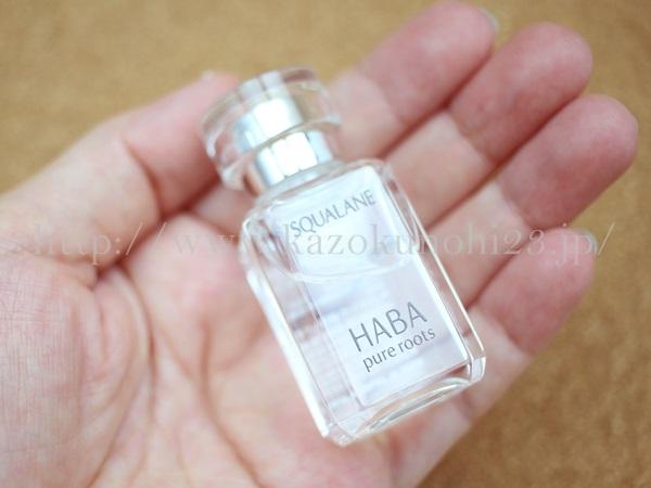 スクワラン純度99.9%の化粧オイル。ハーバー研究所のスクワオイルは無色透明の香りなしオイルです