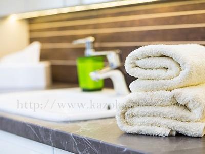 油断しがちな春の乾燥肌対策として、洗顔ごは、柔らかいタオルで拭くと良いです。