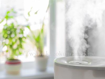 湿度が上がるまでは加湿器を利用することも春の乾燥肌対策には、大切なことだったりします。
