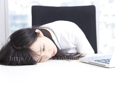 内的要因が原因の敏感肌には、ストレスが原因となっている敏感肌もあります。
