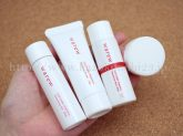 和流(warew)お試しセットは、クレンジングオイル・ウォッシングフォーム・エマルジョンリッチ乳液・クリームを使うことになります。