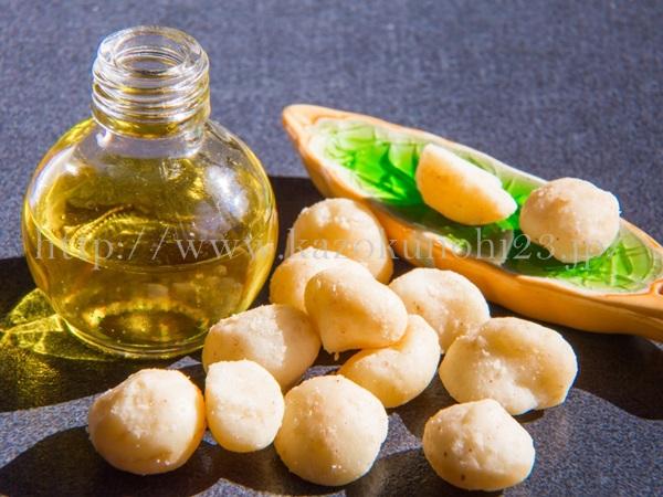 マカダミアナッツオイルも、美容オイル初心者にもおすすめの美容オイルです。