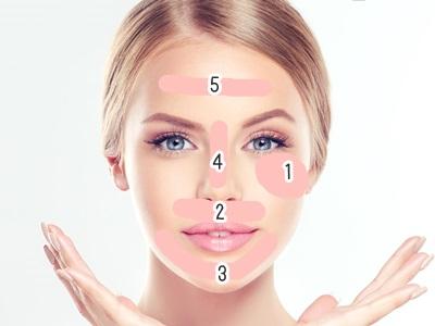 皮膚の温度の低いところからフェイスパックは塗っていくほうが効果が均等になります。