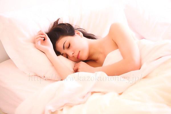枕カバーやシーツなどの寝具も清潔に