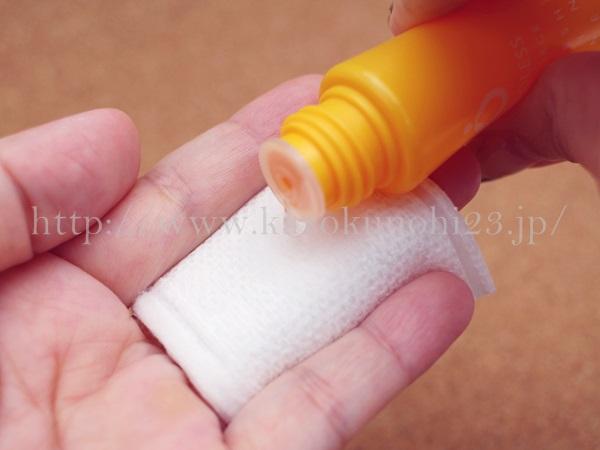 アクポレス薬用ふきとり化粧水を使ってコットンケアしてみたところ。
