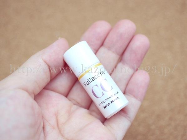 フラセラCCクリームの色味や質感などを写真付きでクチコミ報告します。