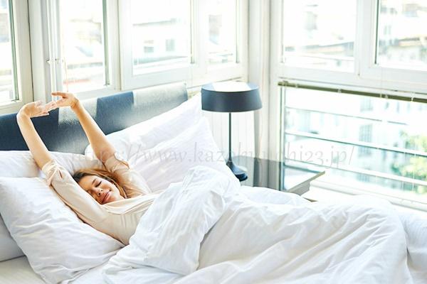 睡眠時間は十分に確保すること