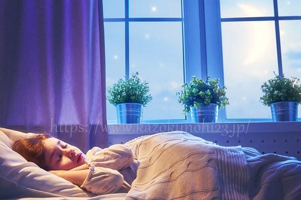 良質な睡眠で肌の再生をサポート