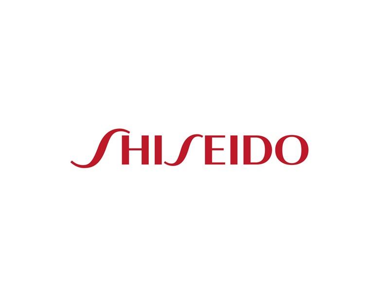 資生堂のロゴ。shiseido