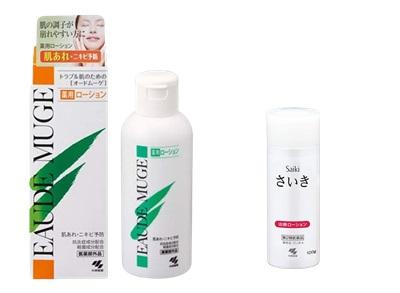 オードムーゲやさいき化粧水なども悩み改善に特化したアイテムです。