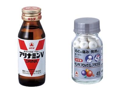 武田薬品は、アリナミンやベンザブロックといった有名な市販薬をたくさん販売している会社です。