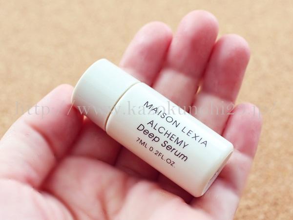 プレエイジングできる酵母スキンケアのアルケミー化粧品のディープセラム美容液の使い方を口コミ報告していきます。