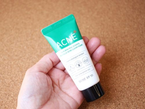 ACNE miracle acne foamを使ってみました。