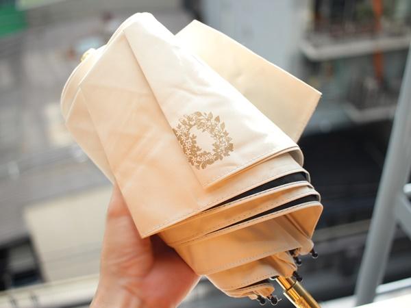 無敵のUV対策キットは、美的とジルスチュアートのコラボ日傘です。